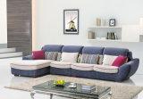 Jogo moderno do sofá do canto da tela da mobília da sala de visitas