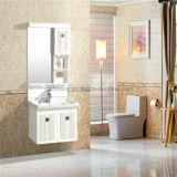 Шкаф ванной комнаты цвета шоколада/одиночный шкаф ванной комнаты PVC раковины