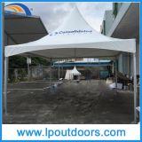 Tente blanche de dessus de ressort de chapiteau de PVC de bâti en aluminium extérieur de crête élevée pour l'événement