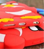 3D動物の赤い羽のHuawei P8 (XSDW-051)のためのより強い鳥のシリコーンの携帯電話の箱