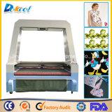 Автомата для резки лазера камеры CCD ткань визуально крупноразмерные/кожа/резец логоса/ярлыка/ткани