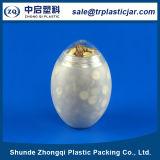 بيضة شكل بلاستيكيّة [ب] علبة