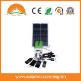 (HM-2012) поли портативная солнечная система 20W12ah для вентилятора DC