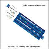 La casa y la PC de aluminio cubrieron 3 pies de 21W 25 LED pila de discos que el tubo ligero con el alambre viene del centro