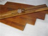 Impermeable teca de Birmania empalme de piso de madera real