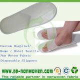 Disposable Shoes를 위한 Eco-Friendly 반대로 Skid Nonwoven Fabric