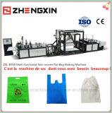 Sac à provisions non-tissé favorable à l'environnement faisant la machine Zxl-B700