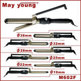 M602f Factory Supply Titanium Barrel Xstyle Design Cabelo Curling Iron