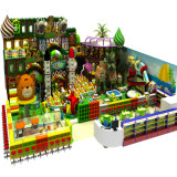 아이를 위한 미국 상점가 이용된 실내 운동장