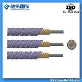 Alambre interno de control del cable del cable de vaivén marina del acelerador (TD-03)