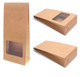 Eco-Friendly 브라운 Natural Kraft Paper Box는을%s 가진 Window를 정지한다 Cut