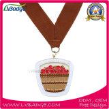 Medaille van de Herinnering van de Sport van de Toekenning van de douane de Lopende met Hoogste Kwaliteit