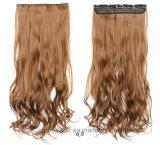 Pinza de pelo sintetizada verdadera superior del 100% en extensiones del pelo