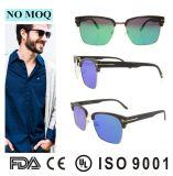 Les lunettes de soleil à la mode de lunettes de soleil de modèle fait sur commande de l'Italie avec du ce ont reconnu