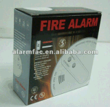 Rivelatore di incendio del fumo di obbligazione domestica con il flash ed i suoni