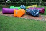 Base 2016 di aria gonfiabile della spiaggia del sofà della banana per accamparsi