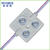 2835 módulos Backlit 0.36W do diodo emissor de luz da injeção com a lente para letras de caixa leve e de canaleta