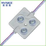 2835 von hinten beleuchtete Baugruppee der Einspritzung-LED mit Objektiv für hellen Kasten