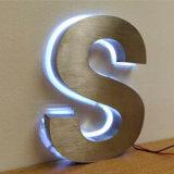 세이코 옥외와 실내 LED 뒤 반전 건설된 편지