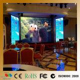 Visualizzazione di LED dell'interno di colore completo del comitato di P6 LED video per il banchetto