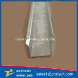 Canal de acero galvanizado aduana de C para la fabricación de metal de hoja