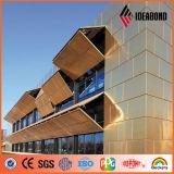 China Kupfer-Verbundplatte für Fassaden