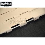 Corrente plástica da parte superior do transporte da fita do produto comestível (Har821-k1000)