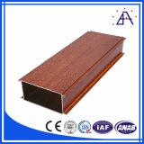 Profil en aluminium de grain en bois pour le matériau de construction (BA-010)