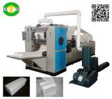 工場低価格手タオルVの折るチィッシュペーパー機械
