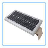 FCC de RoHS de la CE 5 ans de garantie toute dans un réverbère solaire de 20W DEL