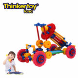 Thinkertoy Land Scientific Construction Blocks pädagogisches Spielzeug Car Series Engineering Fahrzeuge