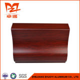 Profilo di alluminio di colore di legno per il portello di alluminio a del portello