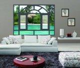 Spezieller Entwurfs-schiebendes Fenster-Aluminiumfarbe wahlweise freigestellt