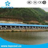 Invernadero del obturador del PVC extractor de 20 pulgadas