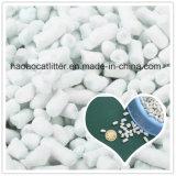 Litera de gato de papel de arena que agrupa, control del olor
