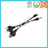 La alta calidad H4 impermeabiliza el harness electrónico ligero auto del alambre del moldeado