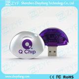 Heißer Verkaufsun-Form-Plastik2gb USB-Stock (ZYF1278)