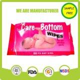 Мягкая материальная естественная ткань младенца без спирта