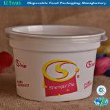 Tazón de fuente de papel del helado de alta calidad con insignia modificada para requisitos particulares