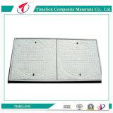 En124 SGS Plastic Rectangular Manhole Road Cover para engenharia civil