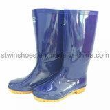 Ботинок воды ботинок дождя повелительницы природного каучука