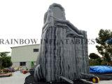 A melhor corrediça de água cinzenta inflável gigante particular de venda (RB6084)