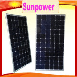 Sale caldo 100With200W Sunpower Monocrystalline PV Panel