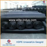 Plastic pp HDPE Uniaxial Geogrid voor Soil Reinforcement