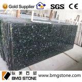 Granit vert de perle, dessus de vanité de salle de bains de partie supérieure du comptoir de cuisine de granit de vert vert
