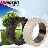 10 1/2*5*5 Betätigen-auf festem Reifen China, Gabelstapler-Gummireifen-Förderung