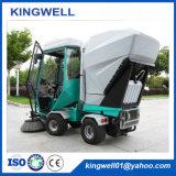 Spazzatrice di strada diesel di vuoto della spazzatrice del pavimento di vendita calda (KW-1900R)