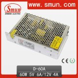 60W 5V12V Dual Output Switching Power Supply (D-60A 5V12V)