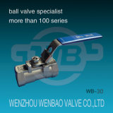 1PC High Pressure Forged Carbon Steel Manual Ball Valve