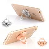 사랑 360 도 금속 핑거 이동 전화 반지 & 훅 호화스러운 다이아몬드 보편적인 핑거 홀더